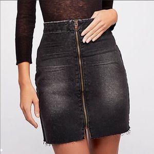 OneTeaspoon Vixen High Waist Mini Skirt